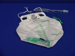 Bard® Center-Entry Urine Drainage Bag - 2000 mL
