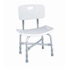 Bath Bench w/ Back - 500lb. Capacity