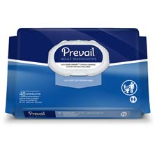 Prevail Disposable Adult Wash Cloth - (48/Pack)