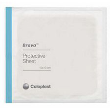 Coloplast Brava Protective Sheets - 4 x 4 in. (10 x 10 cm)