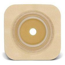 SUR-FIT Natura® Durahesive® Flexible Skin Barrier w/flange and Tan Tape Collar (4 x 4in.)
