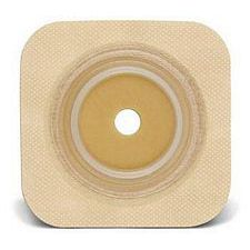 SUR-FIT Natura® Durahesive® Flexible Skin Barrier w/flange and Tan Tape Collar (5 x 5in.)