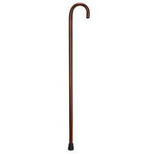 Men's Traditional Wood Cane - 1 in.