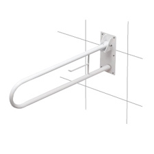 Fold-Away Wall Mount Grab Bar