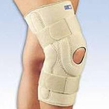 Thermal Neoprene Knee Brace with Composite Hinges