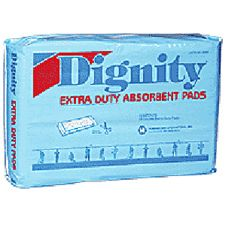 Humanicare Dignity® Extra-Duty Double Pads - 4 x 12in.