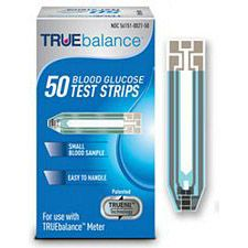 TrueBalance Test strips (50/Box)