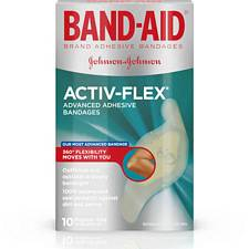 Band-Aids with Flexible Fabric - 1 x 3 in. (100/Box)