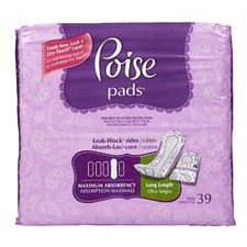 Poise with Side Shields - Maximum Absorbency (Long Length)