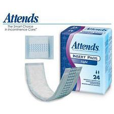 Attends Light Insert Pads (24/Box)