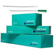 Mentor - Coloplast Self-Cath® Female catheter - Luer end - Sterile - Latex-Free, 14 Fr. 6 inch