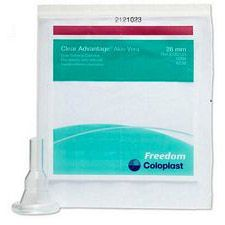 Mentor - Coloplast Clear Advantage®, Silicone Self-Adhering Male External Catheter