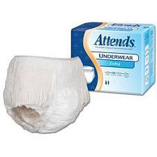 Attends Underwear Extra Absorbency - Medium (34 - 44 in.) (20/Box)