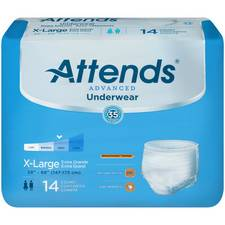 Attends Advanced Pull On Underwear -X-Large (14/Pack)