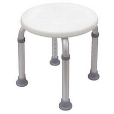 Adjustable Round Shower Stool