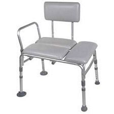Transfer Bench - Padded Vinyl w/ 300lb. Capacity