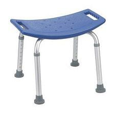 Blue Bathroom Safety Shower Tub Bench Chair