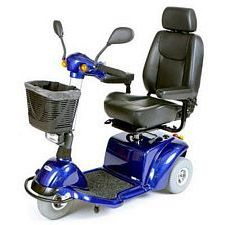 Pilot 3-Wheel Power Scooter (20 in., Blue)