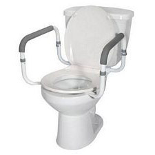 Drive Medical Toilet Safety Rail with Adjustable Arm Width