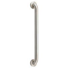 Brushed No Drill Grab Bar in Stainless Steel