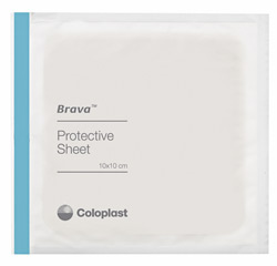 Coloplast Brava Protective Sheets - 8 x 8 in. (20 x 20 cm)