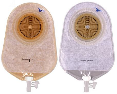 Coloplast® Assura® 1-Piece Urostomy Pouch - Non-Convex (Cut-To-Fit)