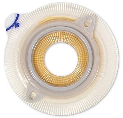 Coloplast® Assura® Convex Extra-Extended Wear Skin Barrier Flange w/ Belt Loops (Cut-to-fit)