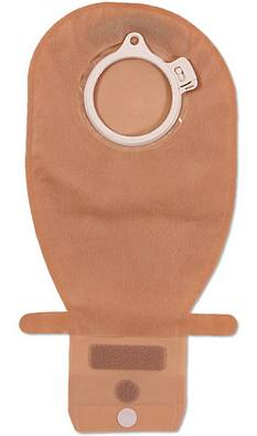 Coloplast® 2 Piece Assura® EasiClose™ WIDE Outlet Drainable Pouch - Midi