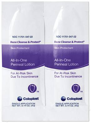 Baza Cleanse & Protect Dimethicone Skin Protectant Lotion - 4 g packet