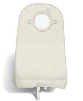 SUR-FIT Natura® Urostomy Pouch - Standard w/ 1-sided Comfort Panel - Transparent