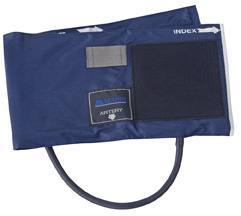 Sphygmomanometer Cuff & One-Tube Bladder with Blue Nylon (Large Adult)