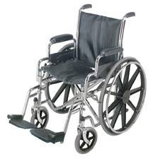 18 in. Wheelchair with Removable Desk Arms