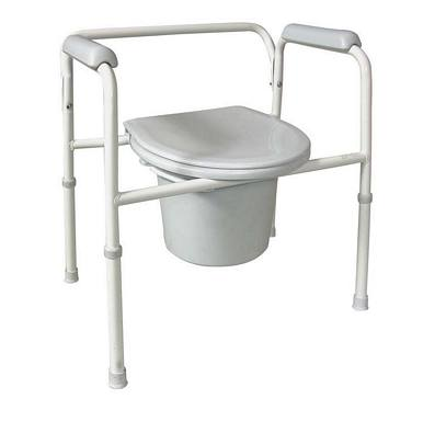 Commode Steel Adjustable Setup Commodes And Toilet