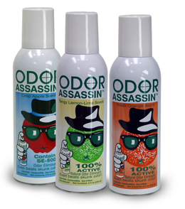 Odor Assassin - 8 Oz. Non-Aerosol Spray