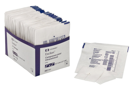 Kendall Excilon™ I.V. Sterile Sponge 2 x 2 in. (Sterile 2 Packs)