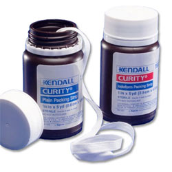 Kendall Curity® Packing Strips with Iodoform - 1/2 in.