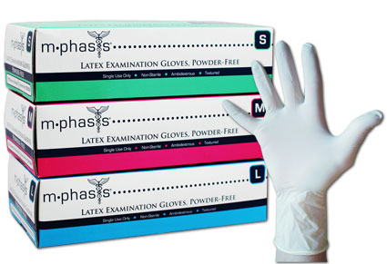 Examination Gloves - Powder-free Non-sterile (Latex)