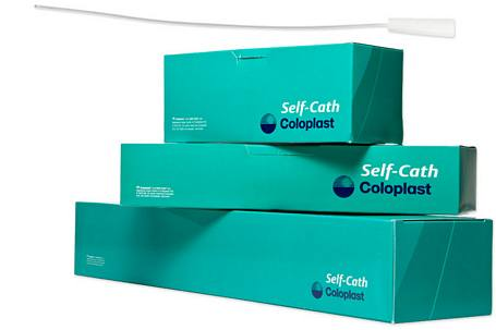 Coloplast Self-Cath Soft Catheter, Male - 16 in. Long, Funnel End