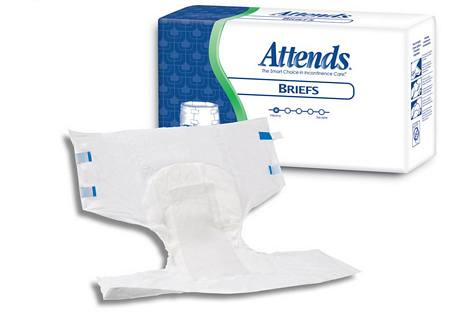 Attends Briefs - Extra Large (58 - 68 in.) - 20/Box