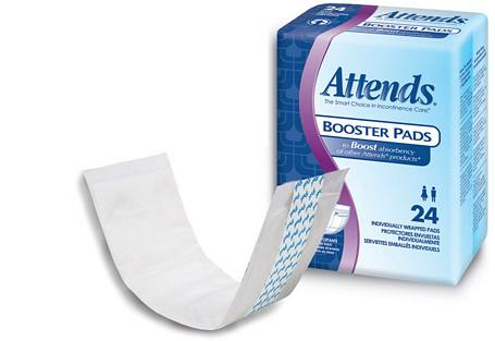 Attends Booster Pads (24/Box)