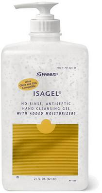 Coloplast® Isagel® No-Rinse, Instant Hand Sanitizing Gel (60% Ethyl Alcohol) - 21 fl. Oz.
