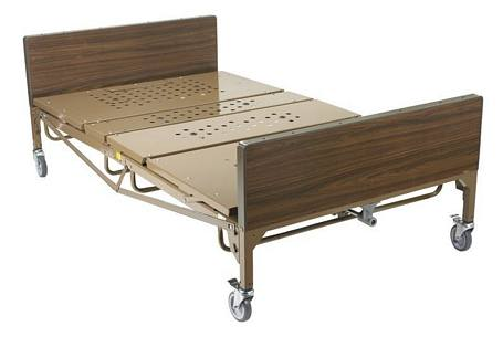 Full Electric Bariatric Hosp. Bed w/T Rails & Mattress