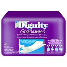 Dignity Lite Stackables Pads (240/Case)