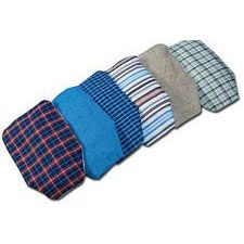 C&S Pouch Covers for Men - Medium Length (Set of 6)