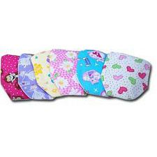 C&S Pouch Covers For Girls - Small Length (Set of 6)
