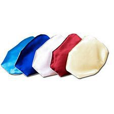 C&S Pouch Covers in Satin - Medium Length (Set of 6)