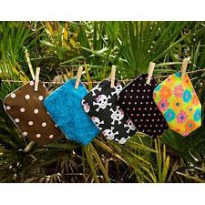 C&S Pouch Covers - Sassy, Medium Length (Set of 6)