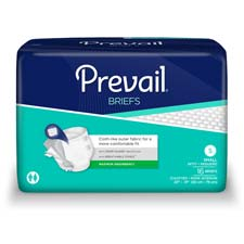 1st Quality® Prevail Full Fit Adult Briefs (Small)