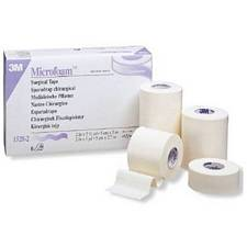 Microfoam Surgical Tape - 1/2 in.  x 10 Yards (24/Box)