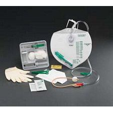 Bardex IC Complete Care Advance Foley Tray w/ Safety-Flow Outlet & Statlock (16 Fr.)